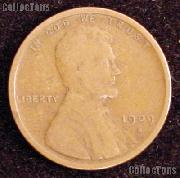 1909-S Wheat Penny Lincoln Wheat Cent Circulated G-4 or Better KEY DATE