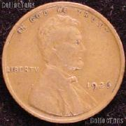1926 Wheat Penny Lincoln Wheat Cent Circulated G-4 or Better
