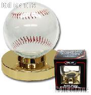 Baseball Display by BCW Gold Base Baseball Holder
