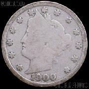 1900 Liberty Head V Nickel G-4 or Better