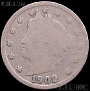 1902 Liberty Head V Nickel G-4 or Better