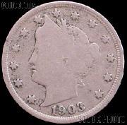 1903 Liberty Head V Nickel G-4 or Better