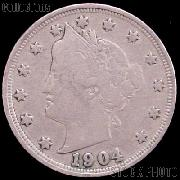 1904 Liberty Head V Nickel G-4 or Better