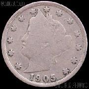 1905 Liberty Head V Nickel G-4 or Better