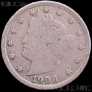 1906 Liberty Head V Nickel G-4 or Better