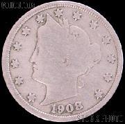 1908 Liberty Head V Nickel G-4 or Better