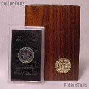 1974-S Brown Ike Eisenhower Silver Dollar - Proof in Box