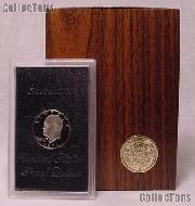 1971-S BROWN IKE SILVER DOLLAR * Proof in Box