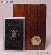 1973-S BROWN IKE SILVER DOLLAR * Proof in Box * KEY
