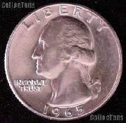 1965 Washington Quarter Gem BU (Brilliant Uncirculated)