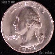 1971-D Washington Quarter Gem BU (Brilliant Uncirculated)