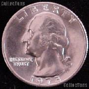 1973 Washington Quarter Gem BU (Brilliant Uncirculated)