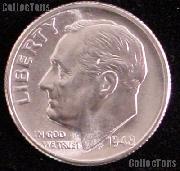 1948-S Roosevelt Silver Dime Gem BU (Brilliant Uncirculated)