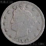 1907 Liberty Head V Nickel G-4 or Better