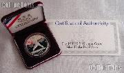 1992-S U.S. Olympic Baseball Commemorative Proof Silver Dollar