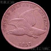1857 Flying Eagle Cent G-4 or Better Flying Eagle Penny