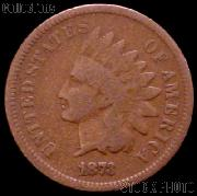 1873 Indian Head Cent Variety 3 Bronze G-4 or Better Indian Penny