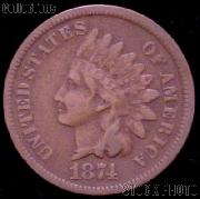 1874 Indian Head Cent Variety 3 Bronze G-4 or Better Indian Penny