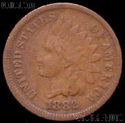 1882 Indian Head Cent Variety 3 Bronze G-4 or Better Indian Penny