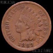 1883 Indian Head Cent Variety 3 Bronze G-4 or Better Indian Penny