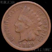 1889 Indian Head Cent Variety 3 Bronze G-4 or Better Indian Penny