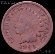 1893 Indian Head Cent Variety 3 Bronze G-4 or Better Indian Penny