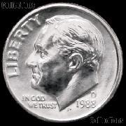 1988-D Roosevelt Dime Gem BU (Brilliant Uncirculated)