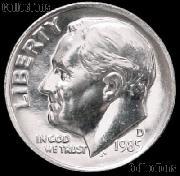 1985-D Roosevelt Dime Gem BU (Brilliant Uncirculated)