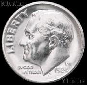 1984-P Roosevelt Dime Gem BU (Brilliant Uncirculated)