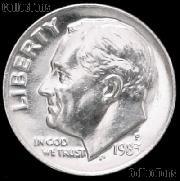 1983-P Roosevelt Dime Gem BU (Brilliant Uncirculated)
