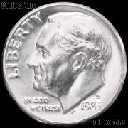 1983-D Roosevelt Dime Gem BU (Brilliant Uncirculated)