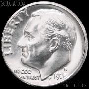 1978-D Roosevelt Dime Gem BU (Brilliant Uncirculated)