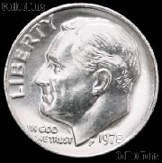 1978 Roosevelt Dime Gem BU (Brilliant Uncirculated)