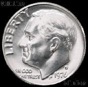 1976-D Roosevelt Dime Gem BU (Brilliant Uncirculated)