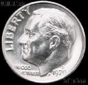 1970-D Roosevelt Dime Gem BU (Brilliant Uncirculated)