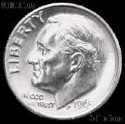 1965 Roosevelt Dime Gem BU (Brilliant Uncirculated)