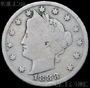 1888 Liberty Head V Nickel G-4 or Better