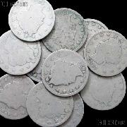 1887 Liberty Head V Nickel - Better Date Filler