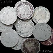 1889 Liberty Head V Nickel - Better Date Filler