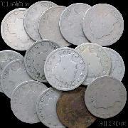 1896 Liberty Head V Nickel - Better Date Filler