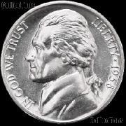 1938 Jefferson Nickel Gem BU (Brilliant Uncirculated)