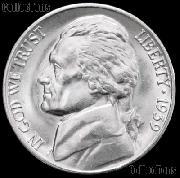 1939 Jefferson Nickel Gem BU (Brilliant Uncirculated)