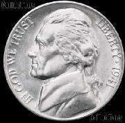 1941 Jefferson Nickel Gem BU (Brilliant Uncirculated)