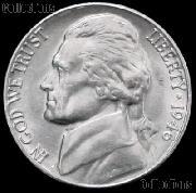 1946 Jefferson Nickel Gem BU (Brilliant Uncirculated)