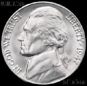 1947 Jefferson Nickel Gem BU (Brilliant Uncirculated)
