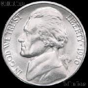 1950 Jefferson Nickel Gem BU (Brilliant Uncirculated)