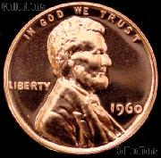 1960 Small Date Lincoln Memorial Penny Lincoln Cent Gem PROOF RED Penny