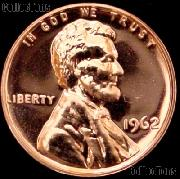 1962 Lincoln Memorial Penny Lincoln Cent Gem PROOF RED Penny