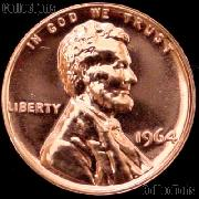 1964 Lincoln Memorial Penny Lincoln Cent Gem PROOF RED Penny