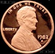 1982-S Lincoln Memorial Penny Lincoln Cent Gem PROOF RED Penny